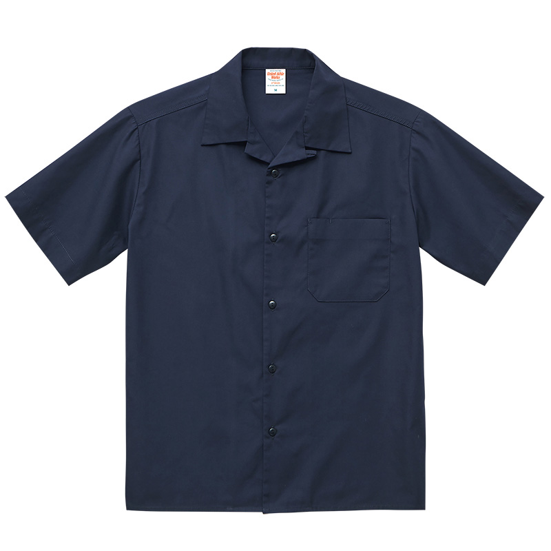 work shirt ワークシャツ 開襟シャツ 作業用シャツ ユニフォーム 制服